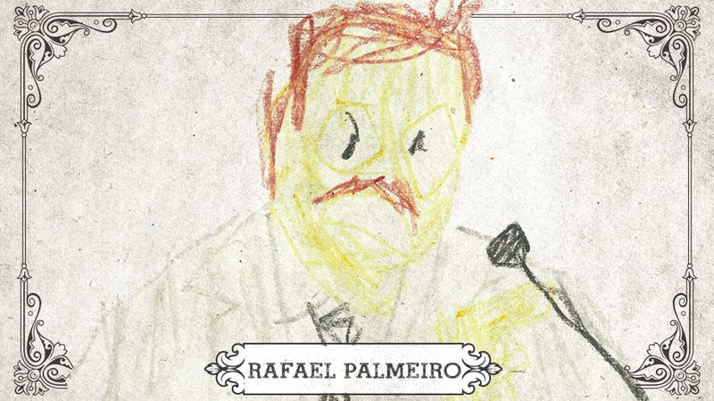Illustration for article titled Rafael Palmeiro Was The Ideal Steroids Scapegoat