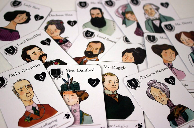 Illustration for article titled A Card Game Inspired By Downton Abbey