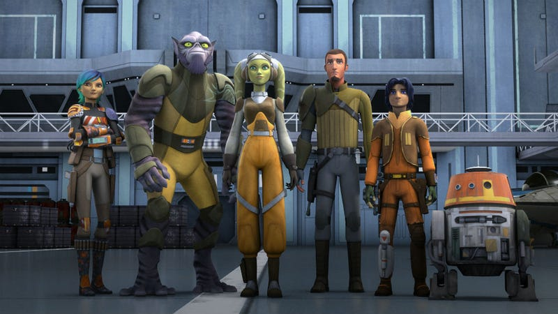 Star Wars Rebels considered telling the story that ended up being Rogue One.