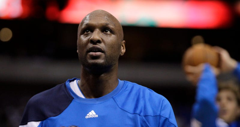 "Illustration for article titled Report: Lamar Odom Can't Recognize Family; Doctors Fear ""Serious"" Brain Damage"