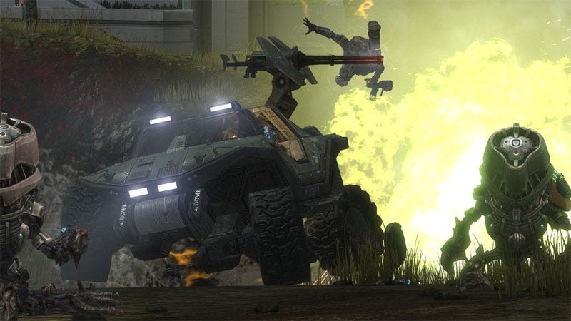 Illustration for article titled Halo: Reach's New 'Firefight' Covenant Mode, Forge World, More Debut At Comic-Con