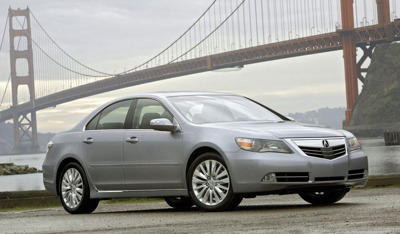 Illustration for article titled 2011 Acura RL Goes From Bucktooth To Beige