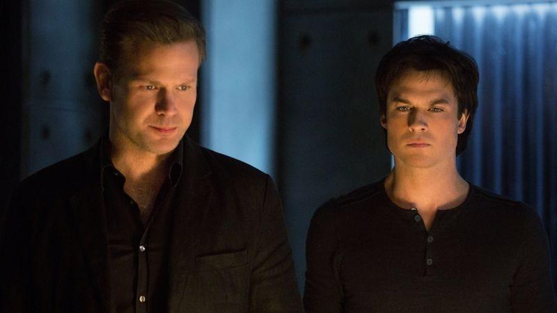 Matt Davis, Ian Somerhalder (Image: The CW)