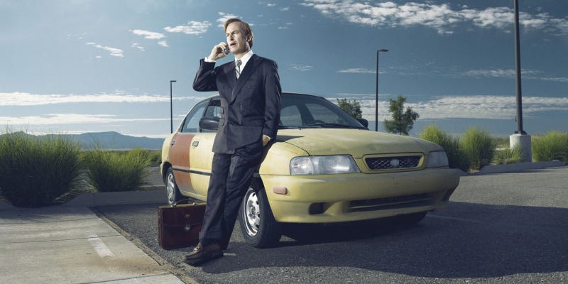 Illustration for article titled Better Call Saul'sCrappy Suzuki Esteem Is An Inspired Choice