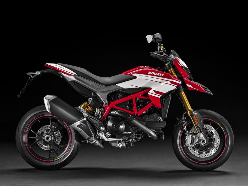 the 2016 ducati hypermotard 939 is the best bike if you can only