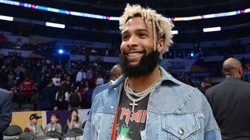 Illustration for article titled Video Surfaces Of Odell Beckham Jr. Enjoying A Delightful Pizza Party In Bed, Plus Maybe Some Drugs?