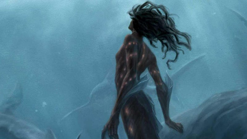 Crop of the cover for Rivers Solomon's The Deep.