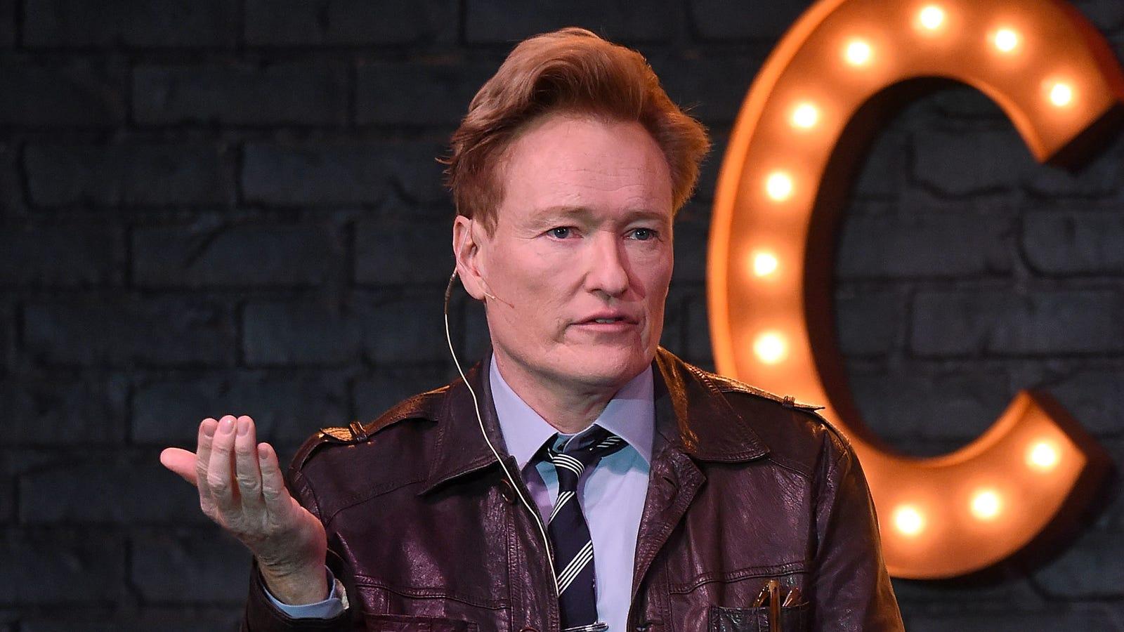 Conan O'Brien settles joke-theft lawsuit, shares essay explaining why - The A.V. Club