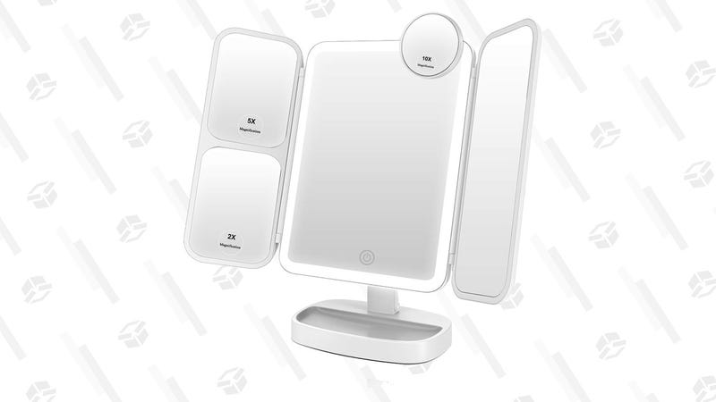Easehold LED Vanity Mirror | $17 | Amazon | Promo code QULP68WP