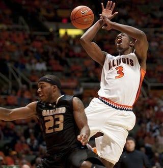 Illustration for article titled Illinois Men's Basketball Team Plays Better Basketball When Using A Men's Basketball