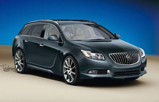 Illustration for article titled Lutz Hints At 335 HP Buick Regal GS, Wagon