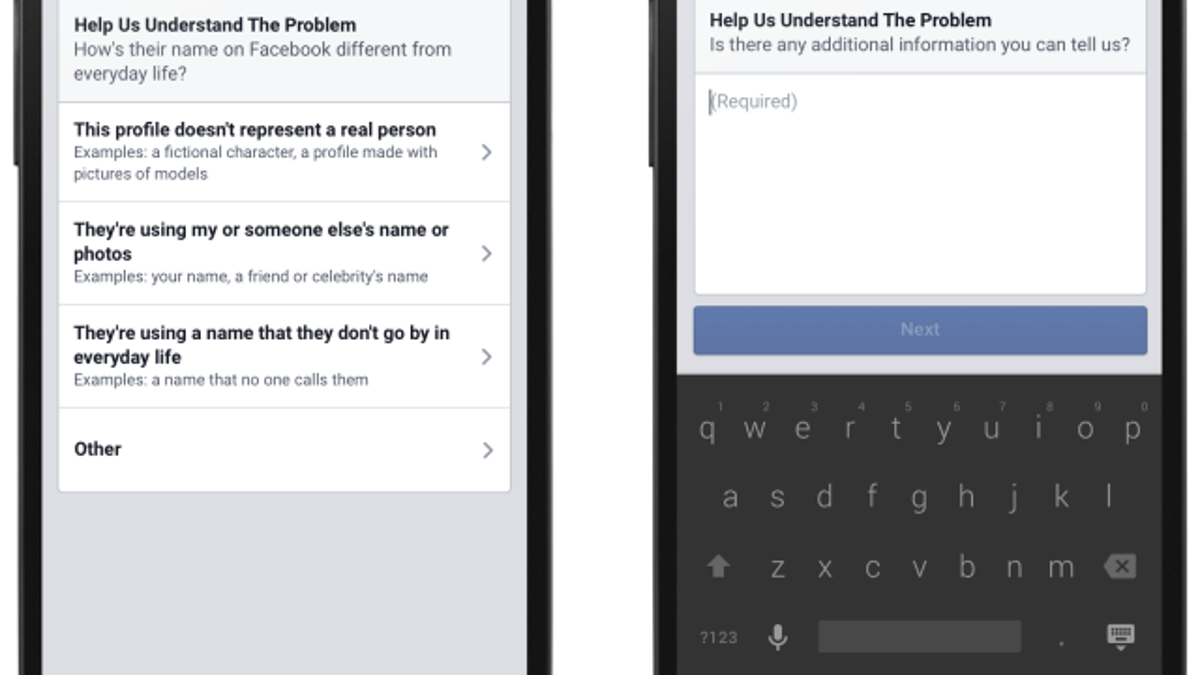 "Facebook Won't Change Its ""Real Name"" Policy but Will Offer"