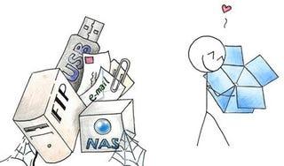 Illustration for article titled Best Online File Sharing Service: Dropbox