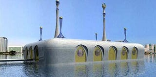 Illustration for article titled Floating Mosques for a Climate-Changed World
