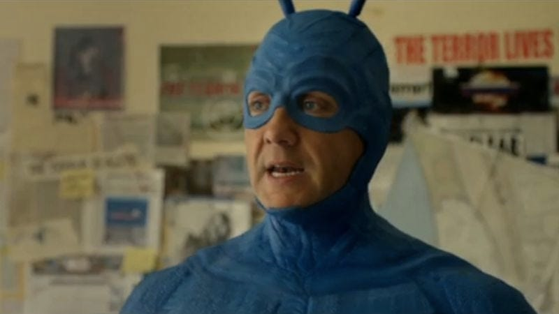 Illustration for article titled Before watching The Tick pilot on Amazon today, check out these new clips