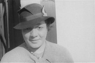 "Ada ""Bricktop"" Smith June 22, 1934Carl Van Vechten Photographs collection at the Library of Congress"