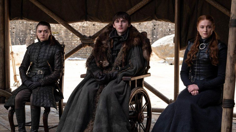The Starks look ready for a band.