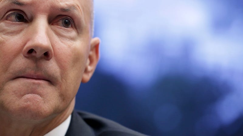Former Equifax CEO Richard Smith testifying in October 2017 (Photo: Getty)