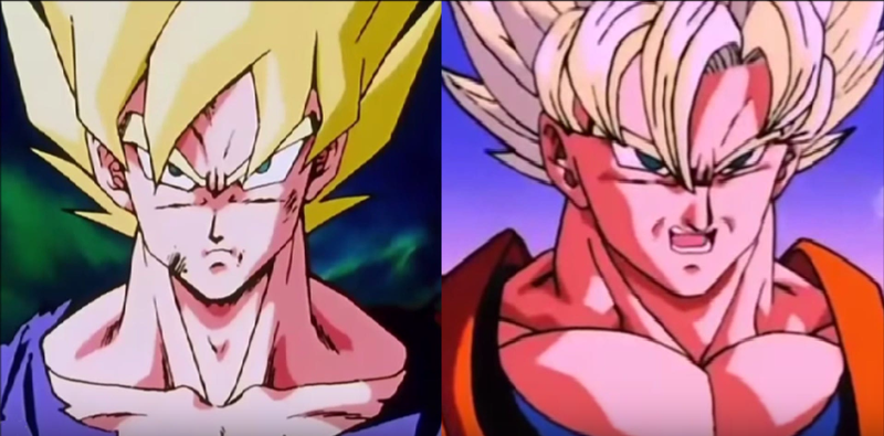 Dragon Ball Z Anime Characters : How dragon ball z characters change from episode to