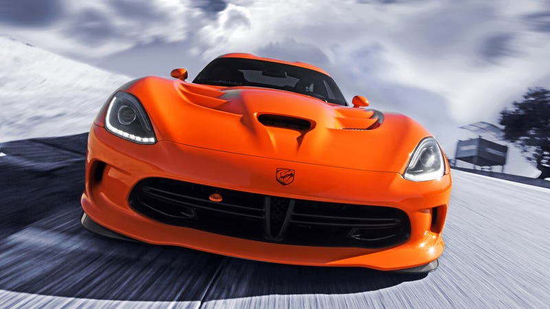 Illustration for article titled Your Totally Awesome SRT Viper TA Wallpapers Are Here