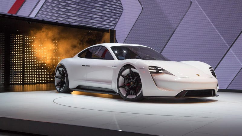Ilration For Article Led The Porsche Mission E Is Now Uh Taycan