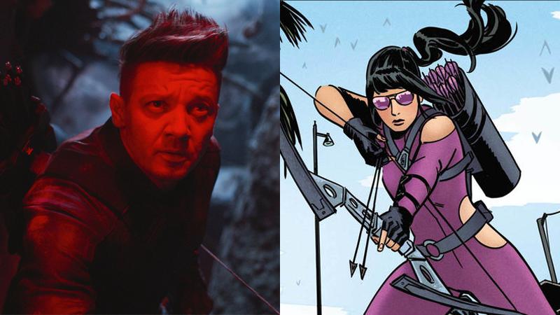 Hawkeye, and also Hawkguy.