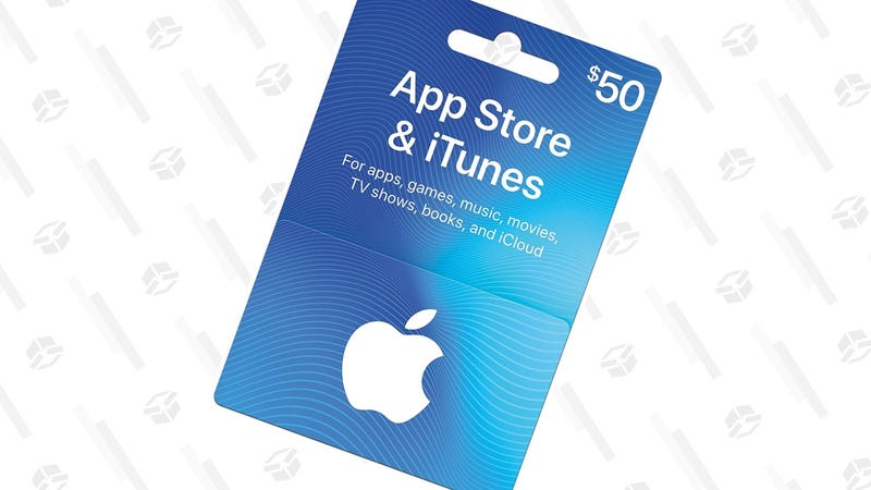 $50 iTunes Gift Card | $42.50 | Amazon