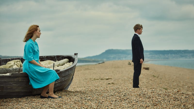 Illustration for article titled Intimacy divides a young couple in the effective Ian McEwan adaptation On Chesil Beach