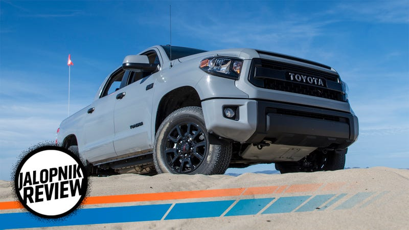 The 2017 Toyota Tundra TRD Pro Is The Best Version Of An Honest Old Truck