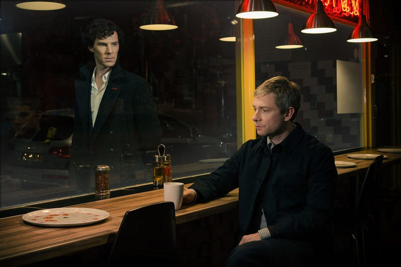 Illustration for article titled Okay Sherlock, now you're just getting creepy