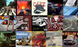 Illustration for article titled A Mega-Gallery Of 80 Auto-Themed Album Covers