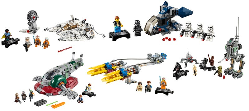 Lego Star Wars' 20th Anniversary and More Cool Toys of the Week