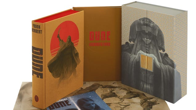 This Limited-Edition Dune Novel Is Gorgeous and Flowing with Spice