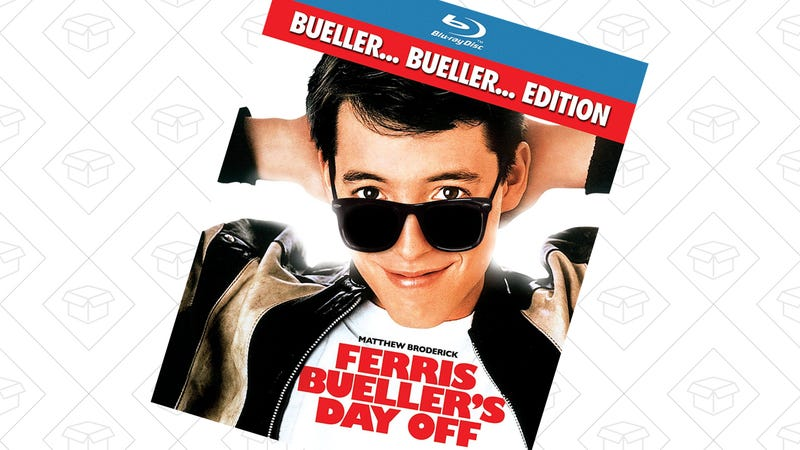 Ferris Bueller's Day Off on Blu-ray, $5