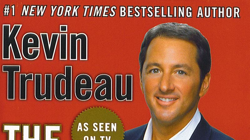 """Illustration for article titled """"They"""" sentenced infomercial huckster Kevin Trudeau to a decade in prison"""
