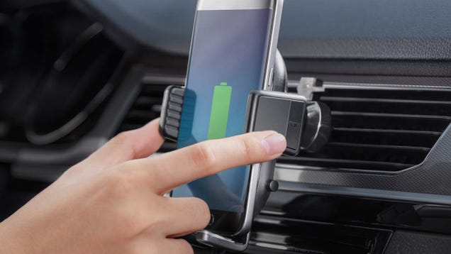 Drive Off With Anker s Wireless Charging Car Mount For $30