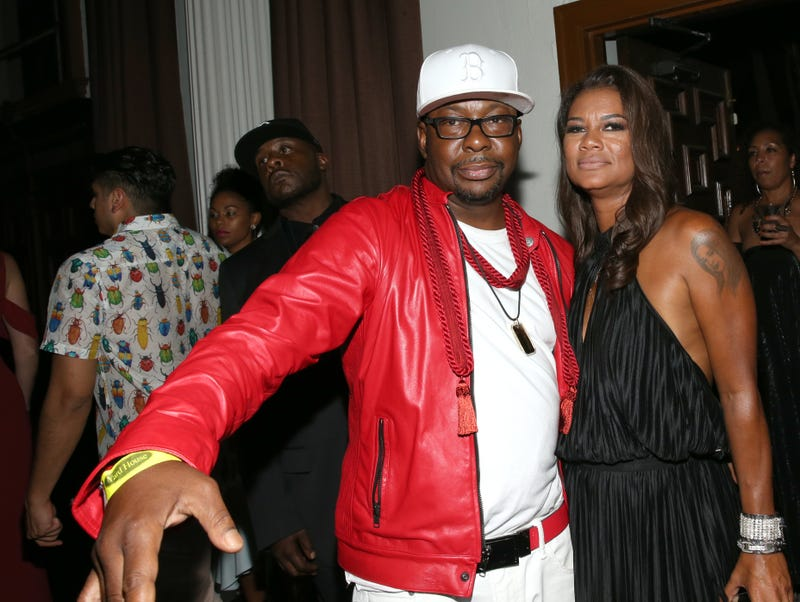 Bobby Brown and wife Alicia Etheredge attend the 2017 BET Awards Official After Party at Vibiana on June 25, 2017 in Los Angeles, California.