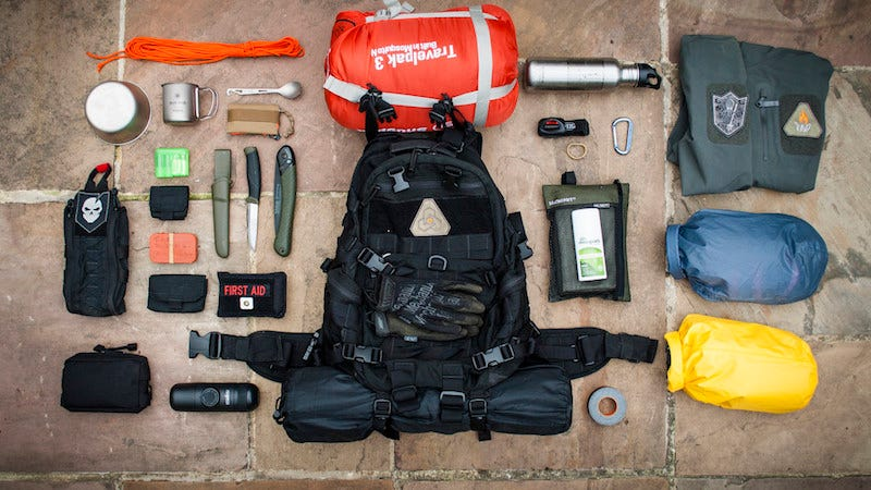 The Three Day Survival Challenge Bag