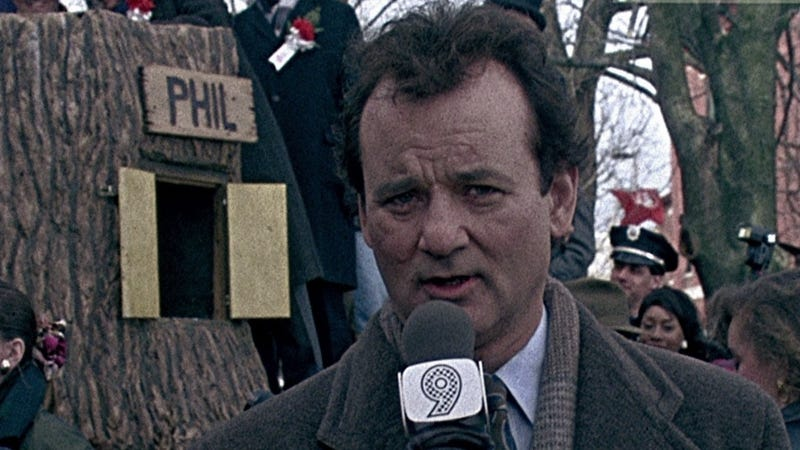 Illustration for article titled Groundhog Day: It's Time to Watch It Again, and Again