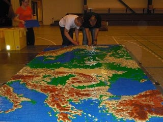 Illustration for article titled A Giant Lego Map of Europe