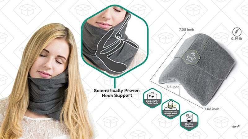 Amazon S Top Selling Travel Pillow Can Fit In Your