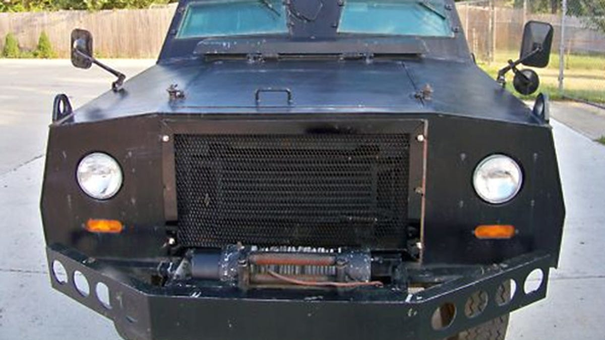 Nine Reasons To Purchase This Awesome Armored Vehicle Currently On Ebay