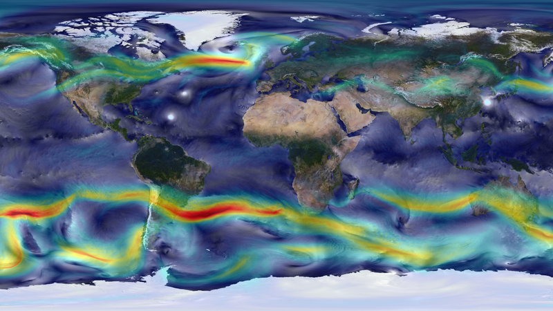 The Earth's Winds, Visualized in Glorious Detail