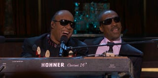 "Stevie Wonder and Eddie Murphy singing ""Higher Ground"" (Spike TV)"