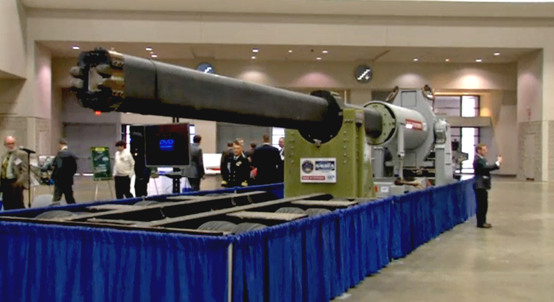 Illustration for article titled The Navy's Gigantic Railgun Is Almost Ready For Prime Time