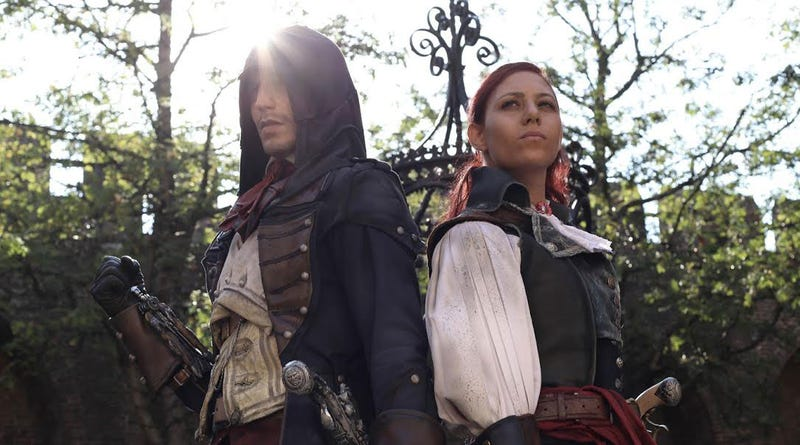 Illustration for article titled New Assassin's Creed Cosplay Is Just Perfect