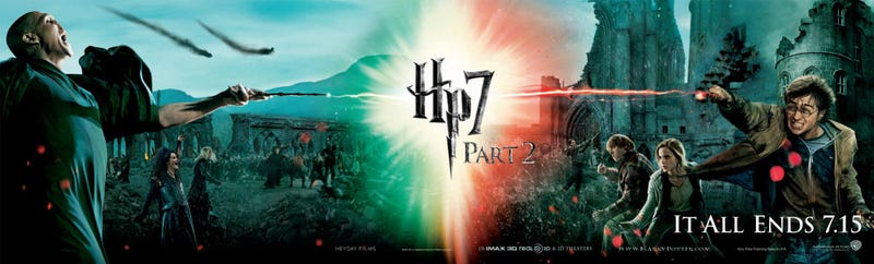 Illustration for article titled Harry Potter and the Deathly Hallows Part II Posters