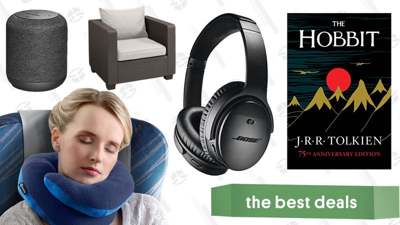 Illustration for article titled Sunday's Best Deals: The Hobbit, Outdoor Furniture, Bose Headphones, and More