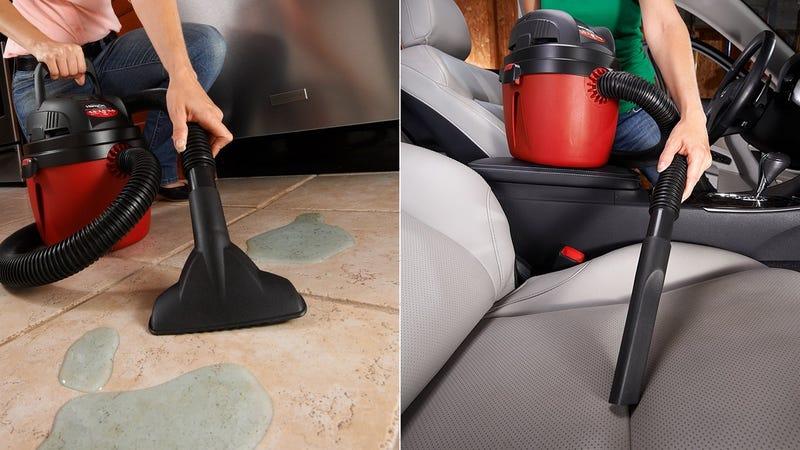 Shop-Vac 1.5 Gallon 2.0 HP Wet/Dry Vacuum, $23
