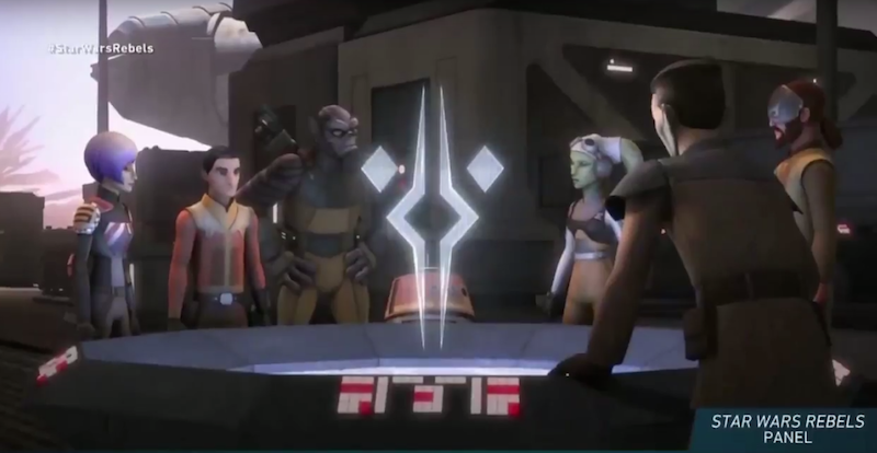 Illustration for article titled Thrawn Isn't the Only Surprise in the Star Wars Rebels Season Three Trailer